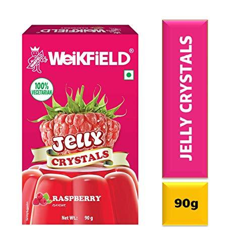 Weikfield Jelly Crystals, Raspberry - 90g