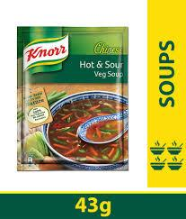 Knorr Chinese Hot & Sour Veg Soup - 43g