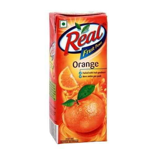 Real Juice - Fruit Power, Orange/Santra, 1 L Carton