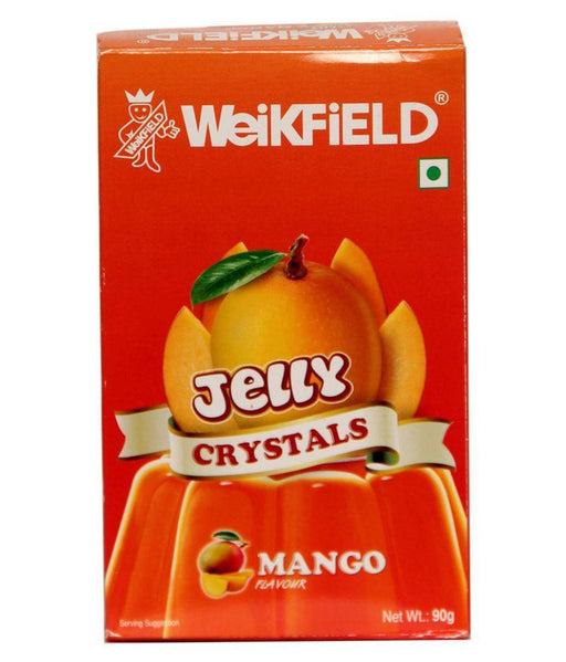 Weikfield Jelly Crystals - Mango, 90g