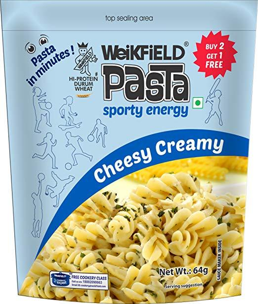 Weikfield Pasta - Cheesy Creamy -64g