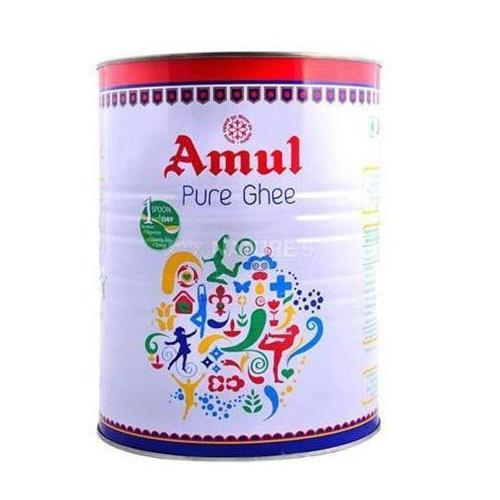 Amul Pure Ghee, ( Tin pack ) - 1 lit