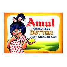 Amul Butter, 100 grams pack