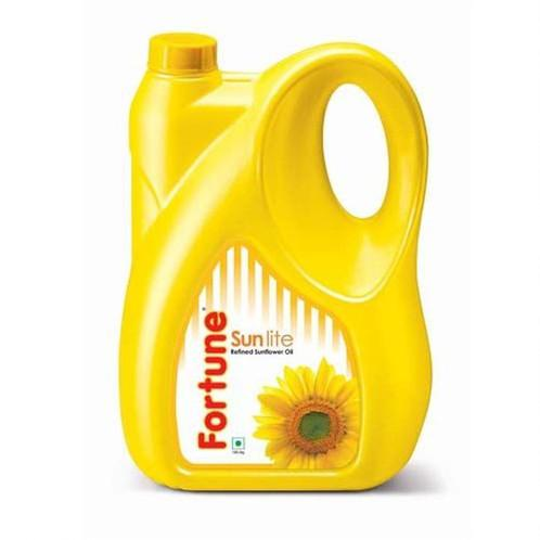 Fortune Sunflower Refined Oil - Sun lite, 5Lt