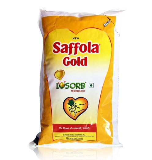 Saffola Gold Vegetable Oil - 1L (Pouch)