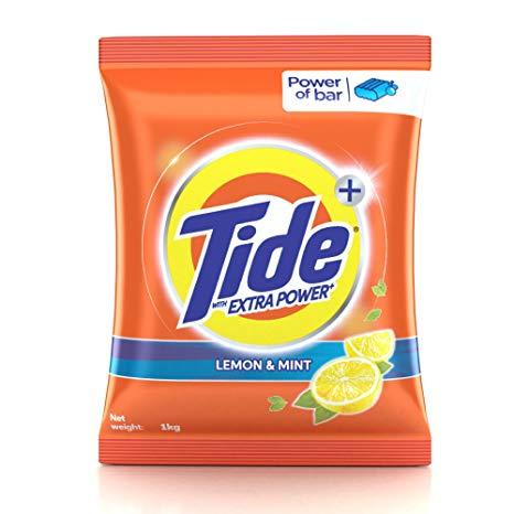 Tide Plus Detergent Washing Powder - Extra Power Lemon & Mint