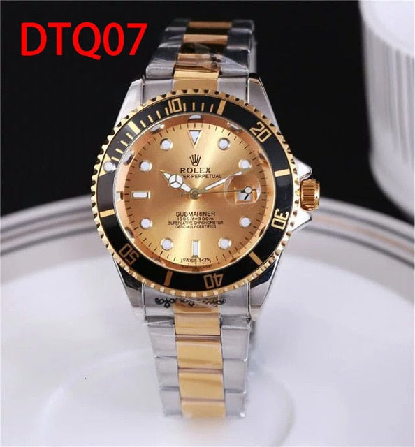 Top Luxury Brand WINNER Black Watch Men women Casual Male Watches Business Sports Military Stainless Steel Watch