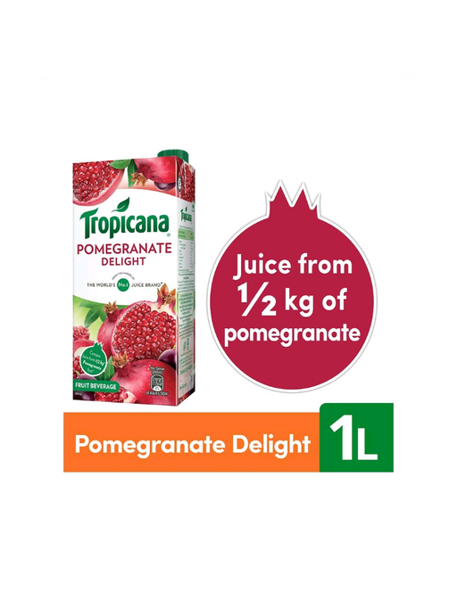 Tropicana Fruit Juice - Delight, Pomegranate