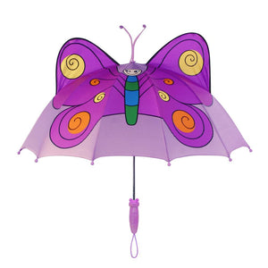 Kidorable Purple Butterfly Umbrella