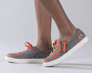 Classic Low Lace Grey/Orange