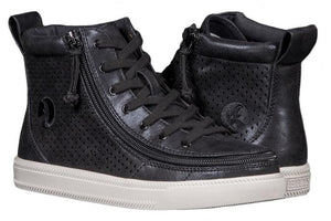 Women's Black Shine BILLY Classic Lace High Top