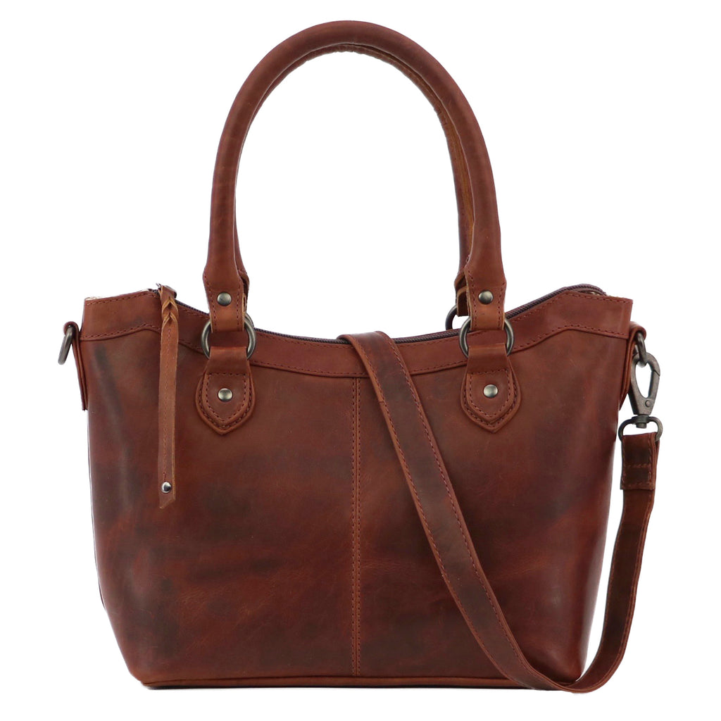 Concealed Carry Sadie Leather Satchel