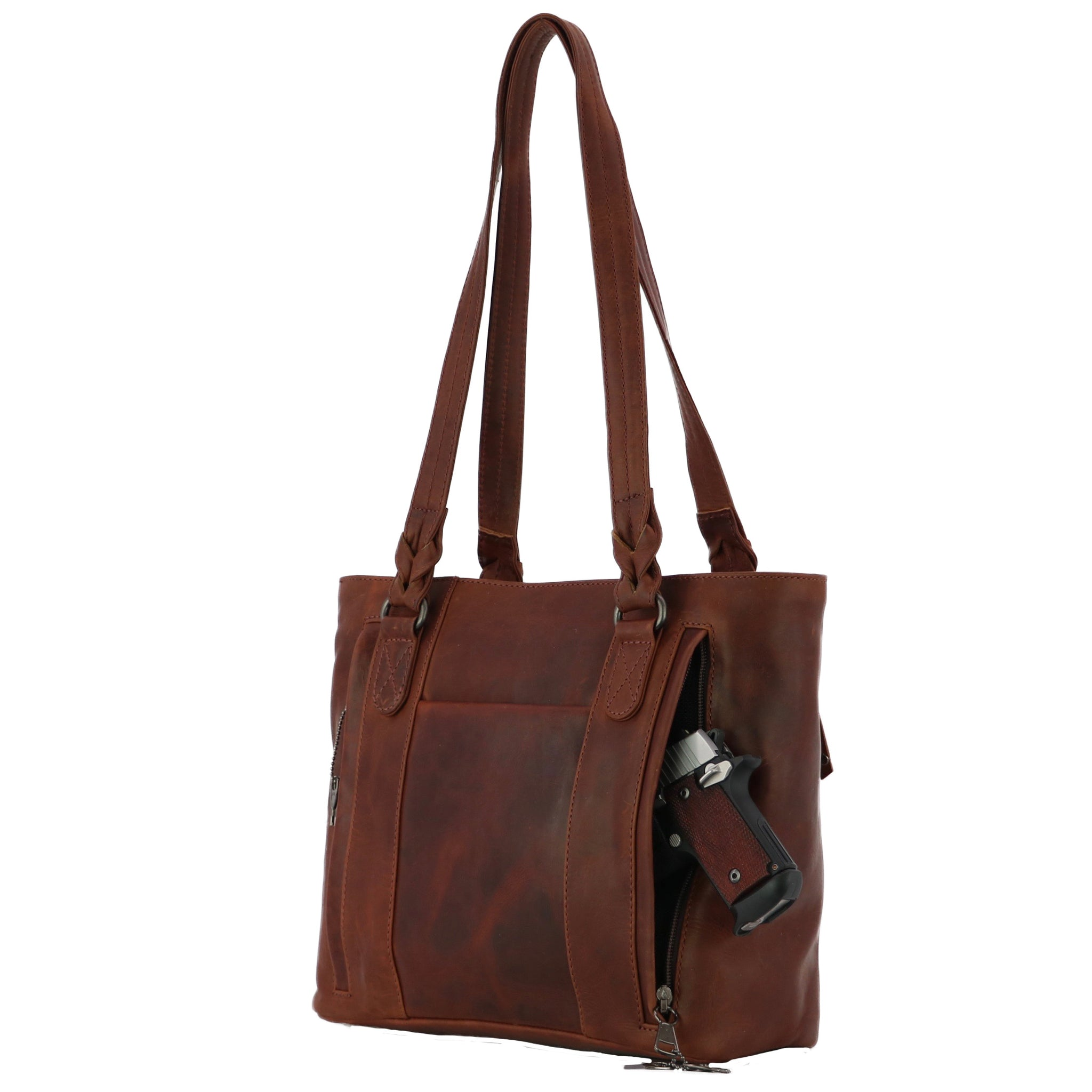 Concealed Carry Tote Purse by High Caliber Handbag