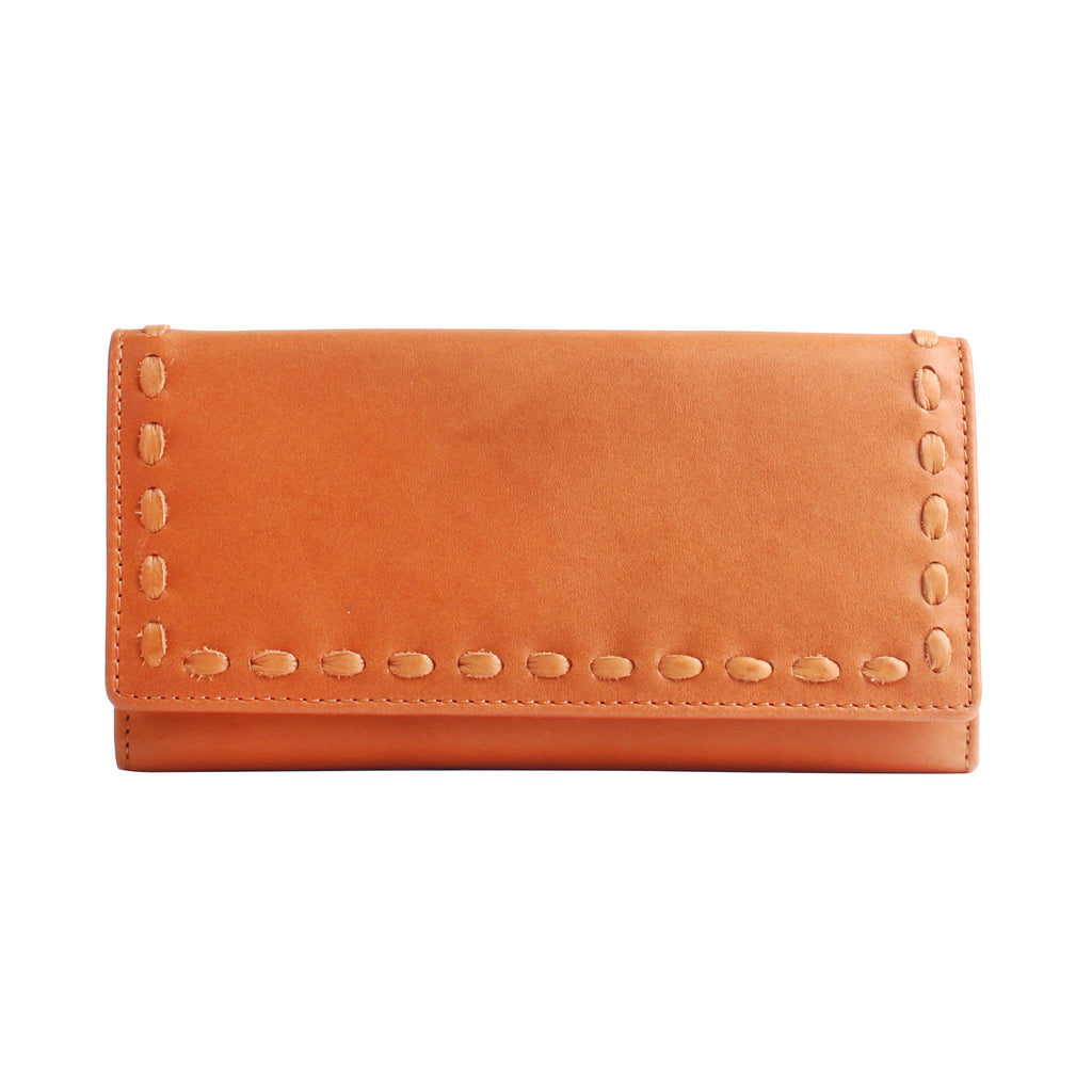 Hope RFID Leather Laced Wallet