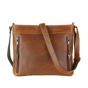 Concealed Carry Delaney Leather Crossbody