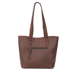 Concealed Carry Maddie Leather Tote
