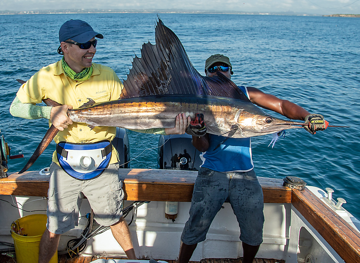 Cyclops Catches Sailfish