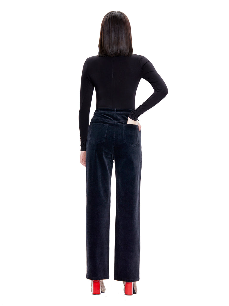Corduroy High Waisted Pants
