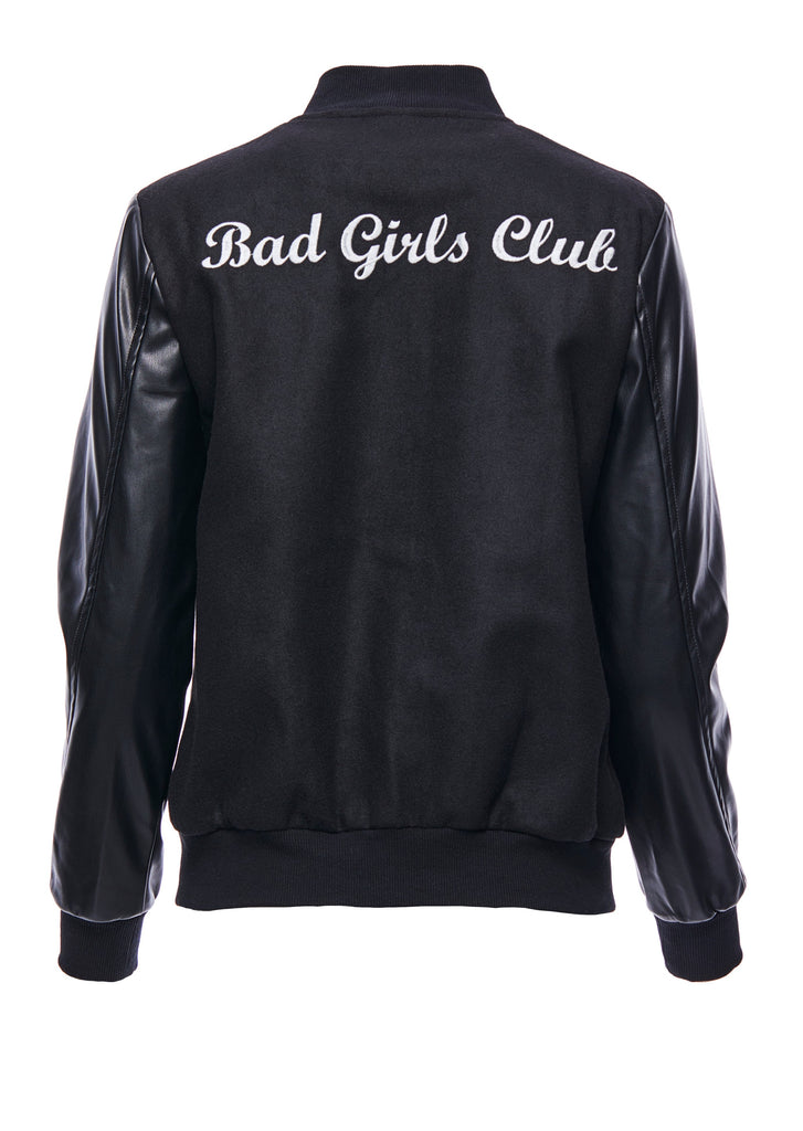 BAD GIRLS CLUB Varsity Jacket