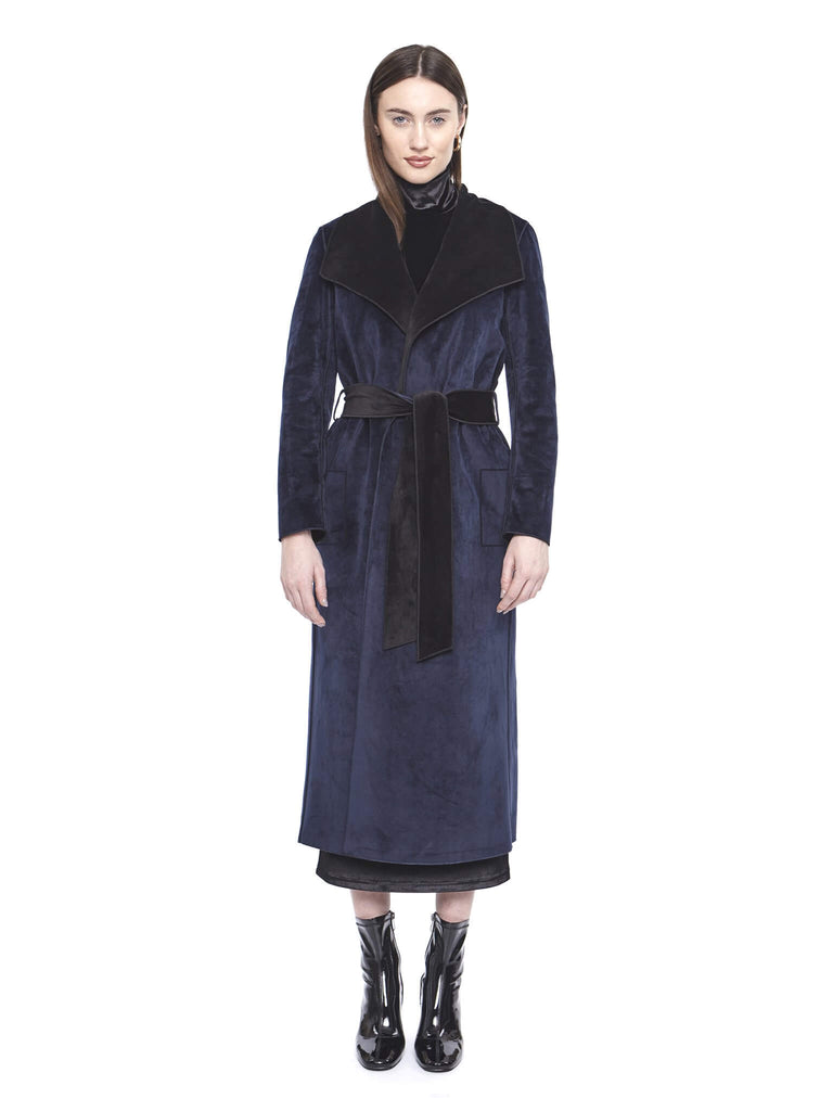 Long Reversible Car Coat