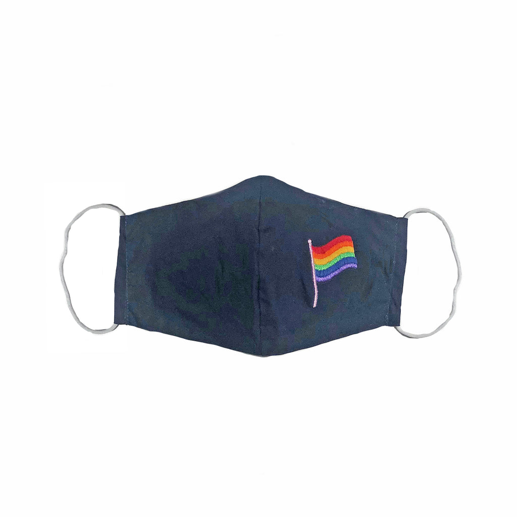 Pride Flag Mask.