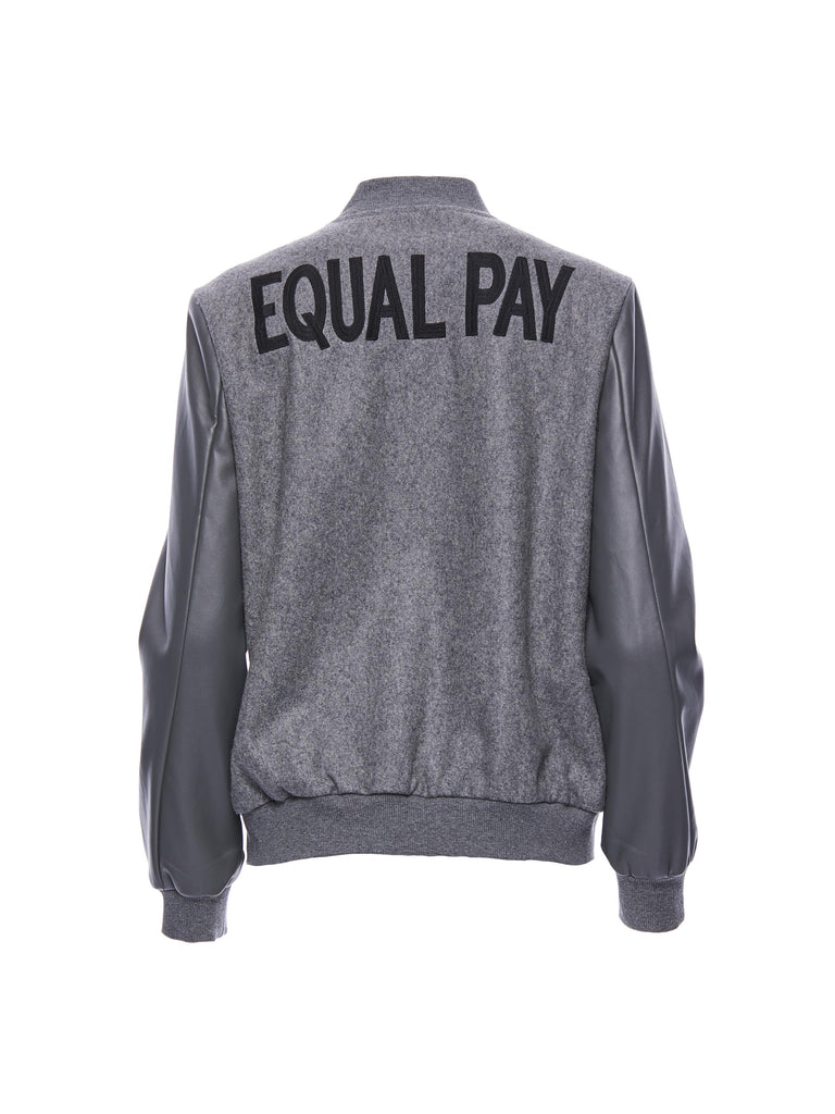 EQUAL PAY Varsity Jacket
