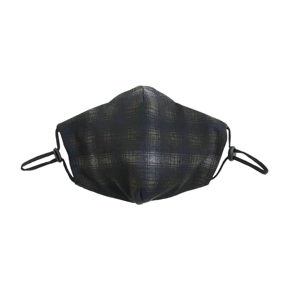 Dark Plaid Mask