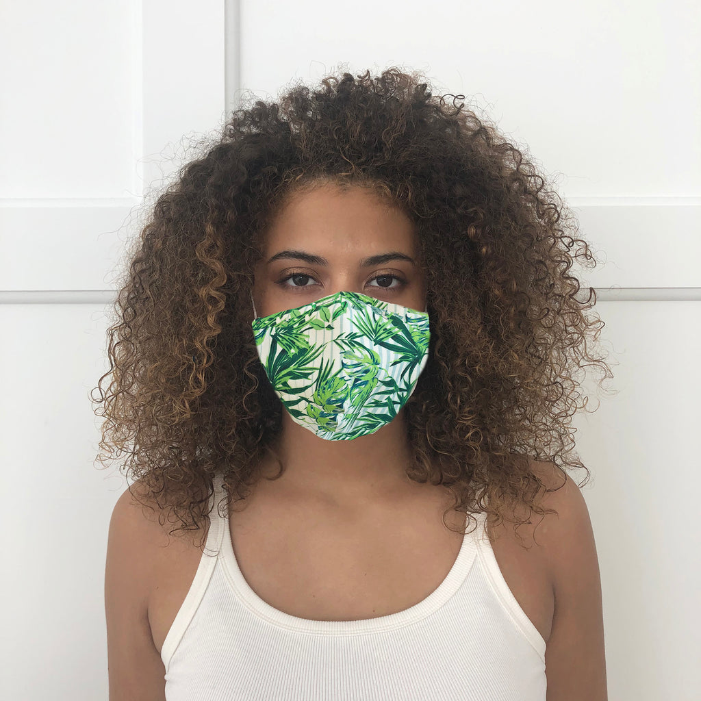 Palm Printed Mask