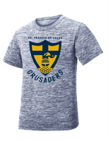 St. Francis Youth PosiCharge® Electric Heather Tee
