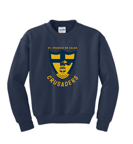 St. Francis Youth Heavy Blend™ Crewneck Sweatshirt