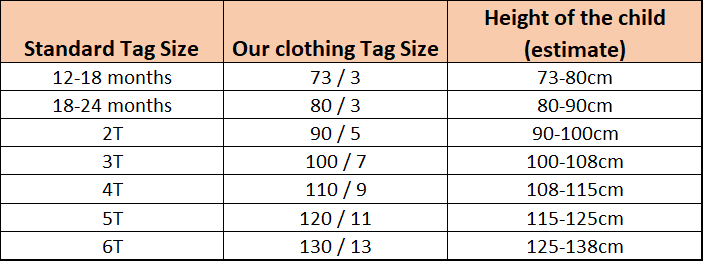 General Sizing Guide HT