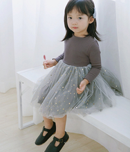 Load image into Gallery viewer, Long Sleeve Princess Dress