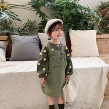 Load image into Gallery viewer, Little Junny Overall Dress