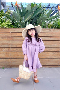 Lavender Ruffle Dress