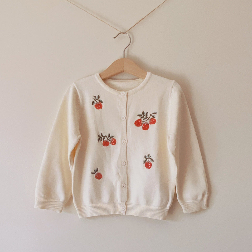 Strawberry Dream Cardigan