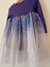 Load image into Gallery viewer, Midnight Twinkle Tulle Dress