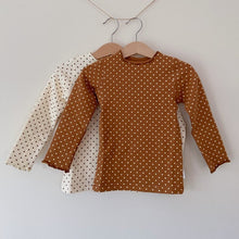 Load image into Gallery viewer, Dotty Skivvy Cotton Top