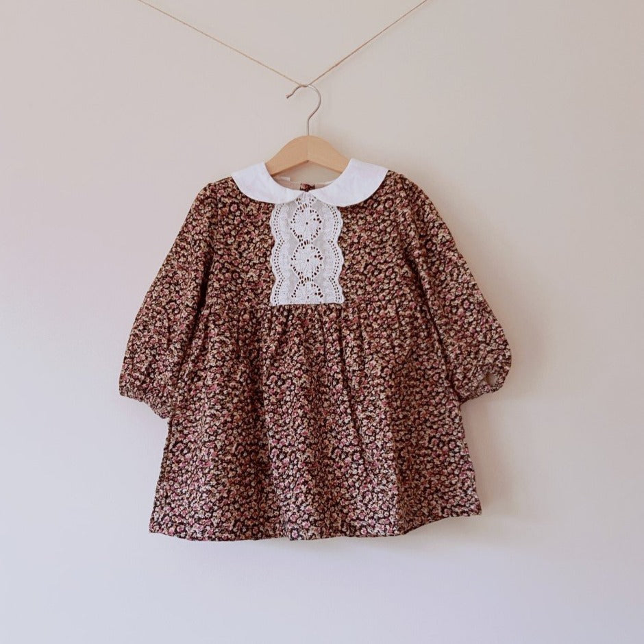 Bryony Collar Floral Dress