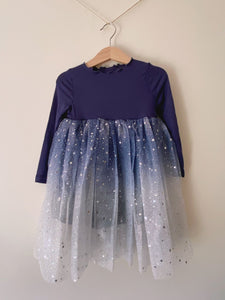 Midnight Twinkle Tulle Dress