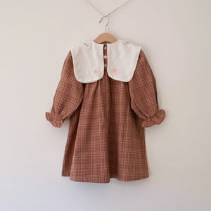 Little Hazel Plaid Dress