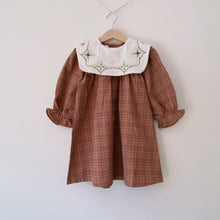 Load image into Gallery viewer, Little Hazel Plaid Dress