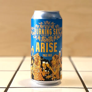 Burning Sky, Arise, Pale Ale, 4.4%