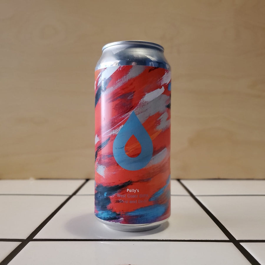 Polly's, Strip and Drift, West Coast DIPA, 9.0%