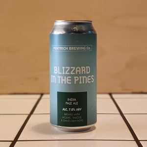 Pentrich Brewing Co, Blizzard In The Pines, IPA, 7.0%