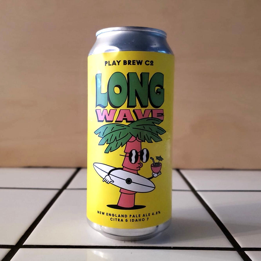 Play Brew Co., Long Wave, New England Pale Ale, 4.8%