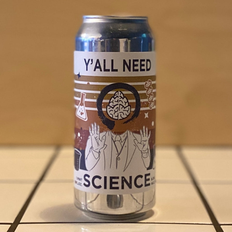Equilibrium, Y'All Need Science, DIPA, 8%