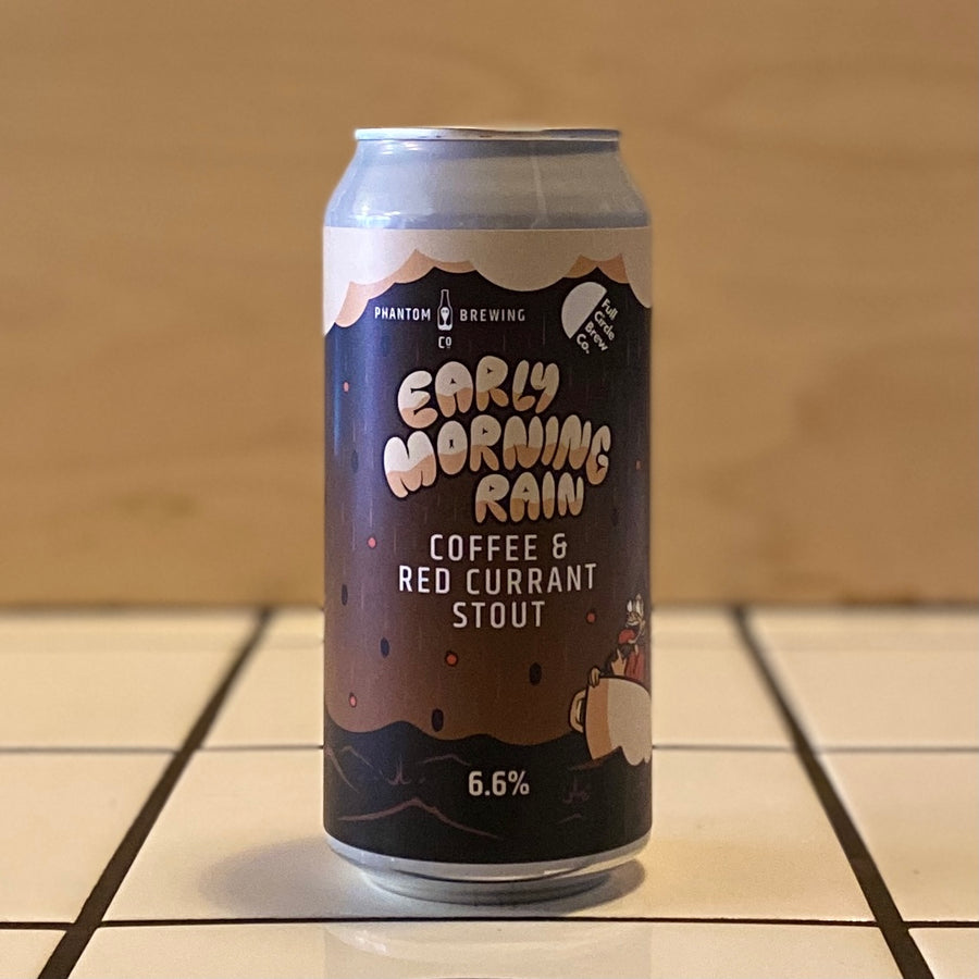 Phantom Brewing Co., Early Morning Rain, Coffee & Red Currant Stout, 6.6%