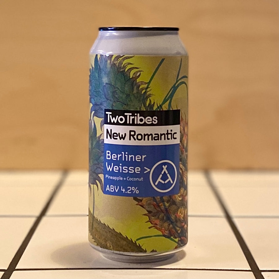 Two Tribes, New Romantic, Pineapple Coconut Berliner Weisse, 4.2%