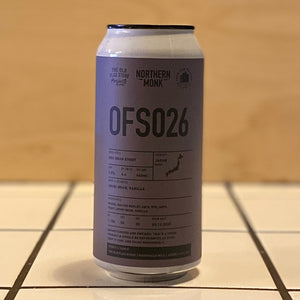 Northern Monk, OFS026 - Red Bean Stout, 9.9%