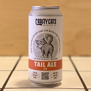 Crafty Cats, Tail Ale, IPA, 5.5%